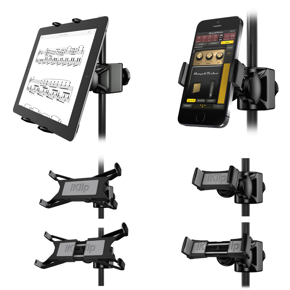 IK Multimedia Launches Expandable iKlip Xpand for iOS Devices