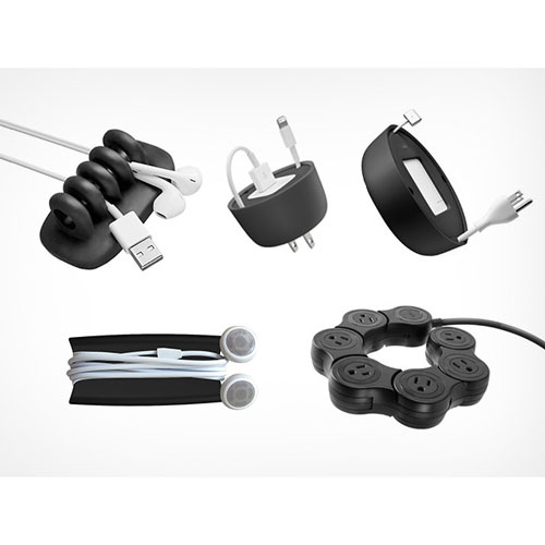 The Quirky Apple Accessories Kit for Cord Management: $36
