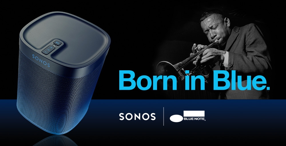 Sonos Releases Limited Edition, Jazz-focused Blue Note PLAY:1 Speaker