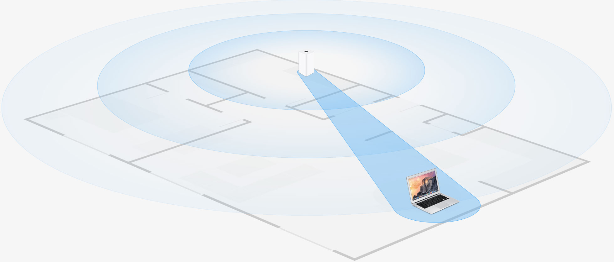 apple airport extreme signal