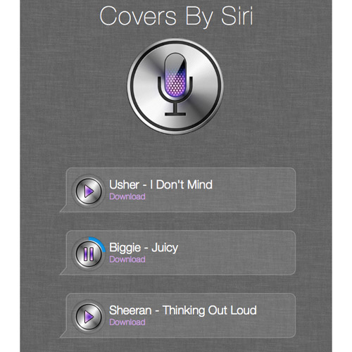 Covers by Siri