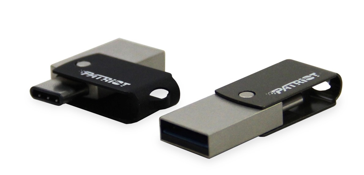 USB-C Flash Drive for MacBook to Ship in June From Patriot