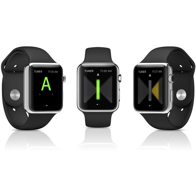 Tune Your Guitar with UltraTuner App for Apple Watch