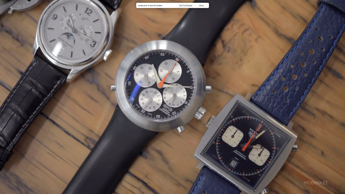 Tony Fadell's Watches