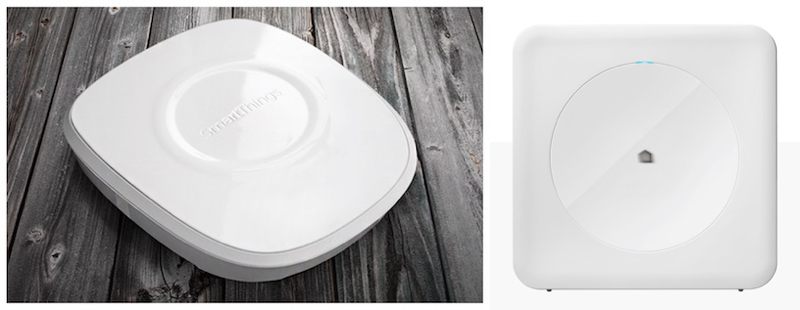 Home Automation Hubs from SmartThings and Wink.