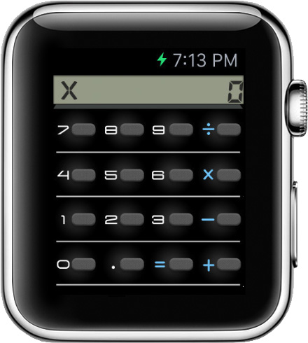 6 Calculator S For Le Watch The
