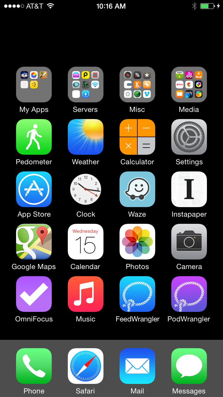 How To Add A Blank Page To Iphone Home Screen
