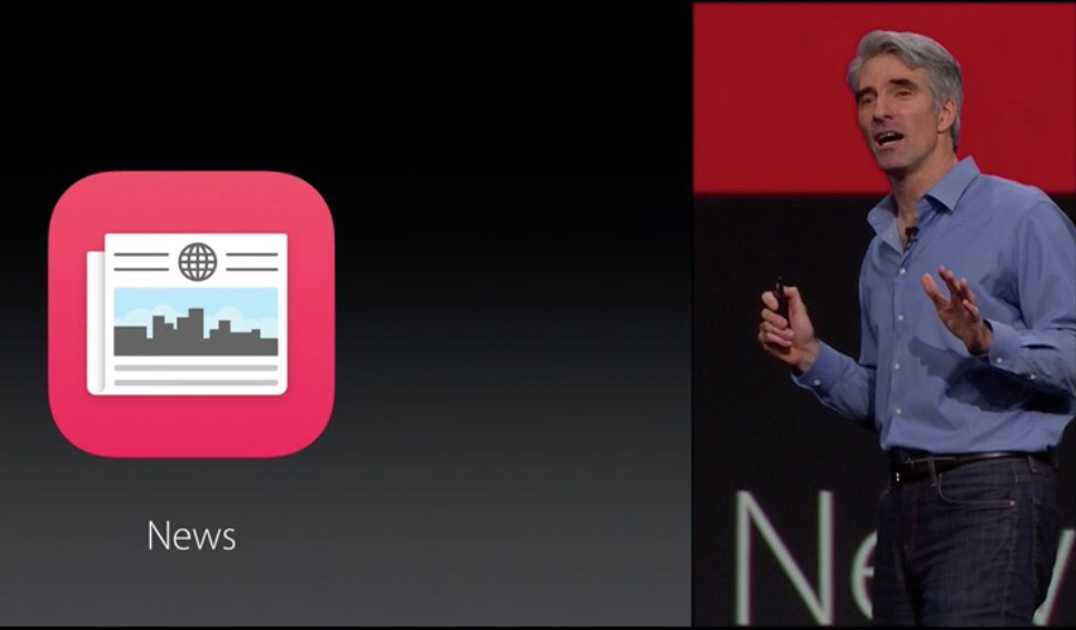 Craig Federighi and News App
