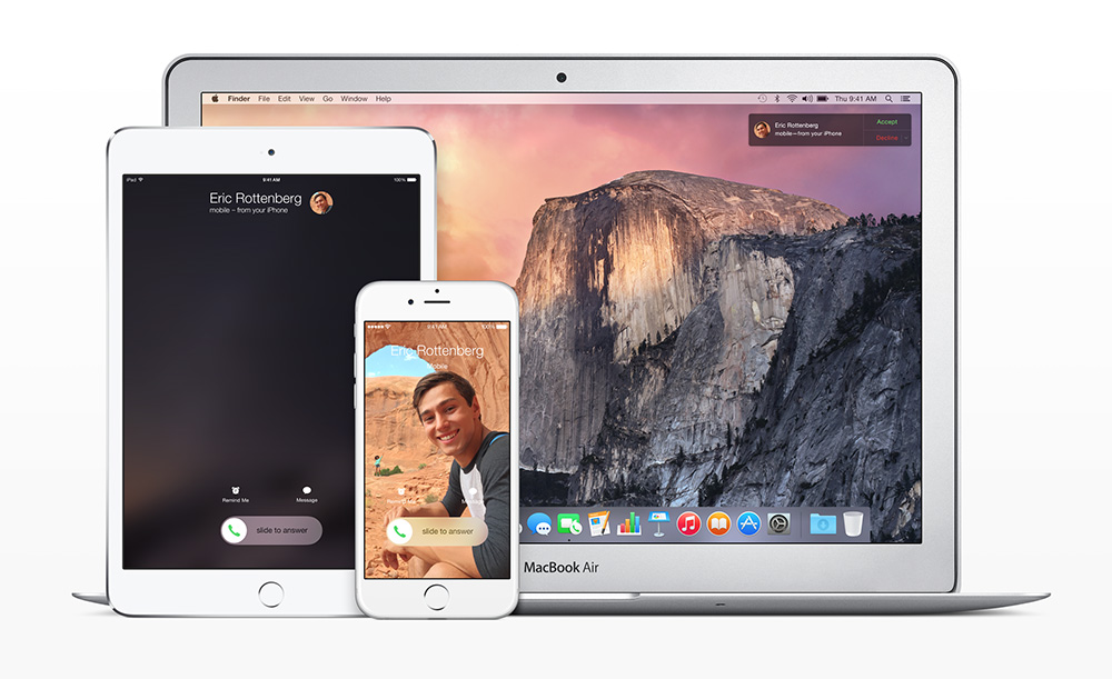 iOS lets you answer calls from your iPad or Mac when you forget your iPhone at home