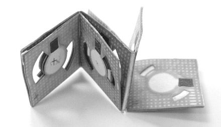 A Battery Made from Paper and Bacteria