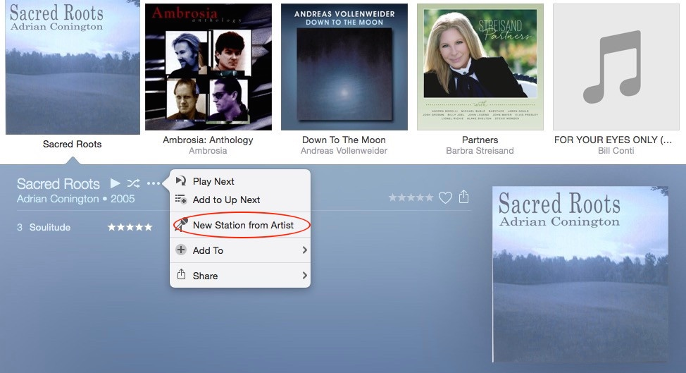 how to create a playlist on itunes 12