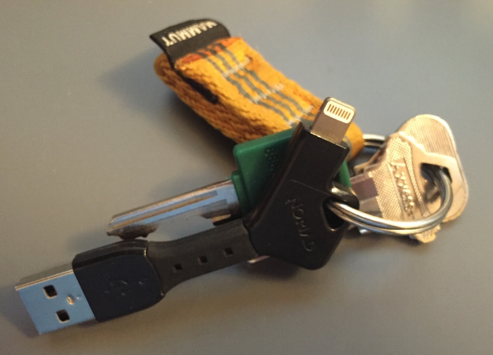 NomadKey on a keyring with other keys