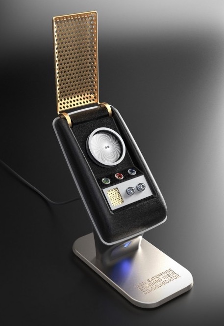 A Working Star Trek Communicator (Bluetooth) Handset