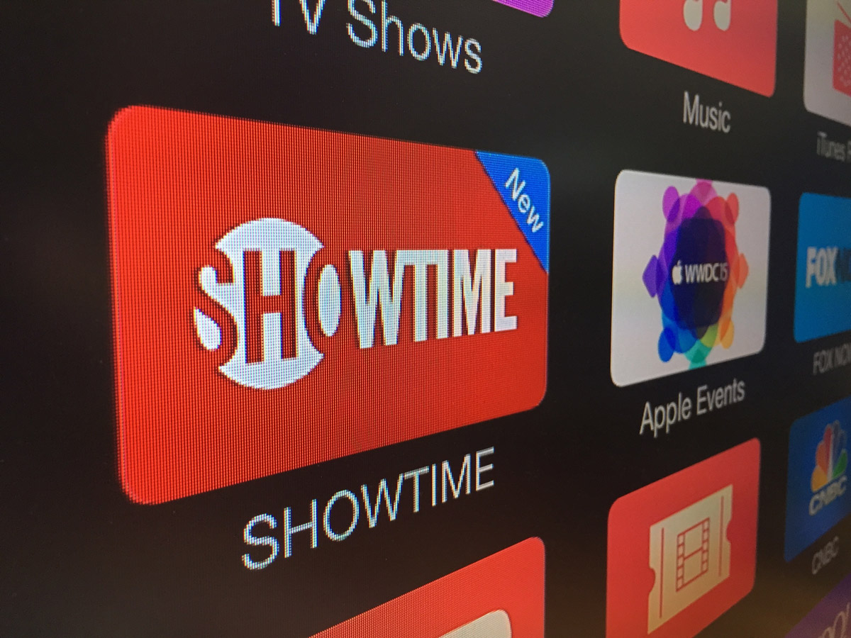 Showtime on Apple TV