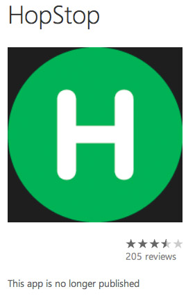 HopStop Pulls Windows Phone Support in Wake of Reported Apple Buyout