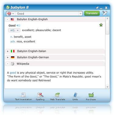 Babylon Upgrade Adds New Translation Features to Mac Dictionary App