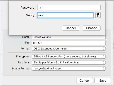 how to delete encrypted files on mac
