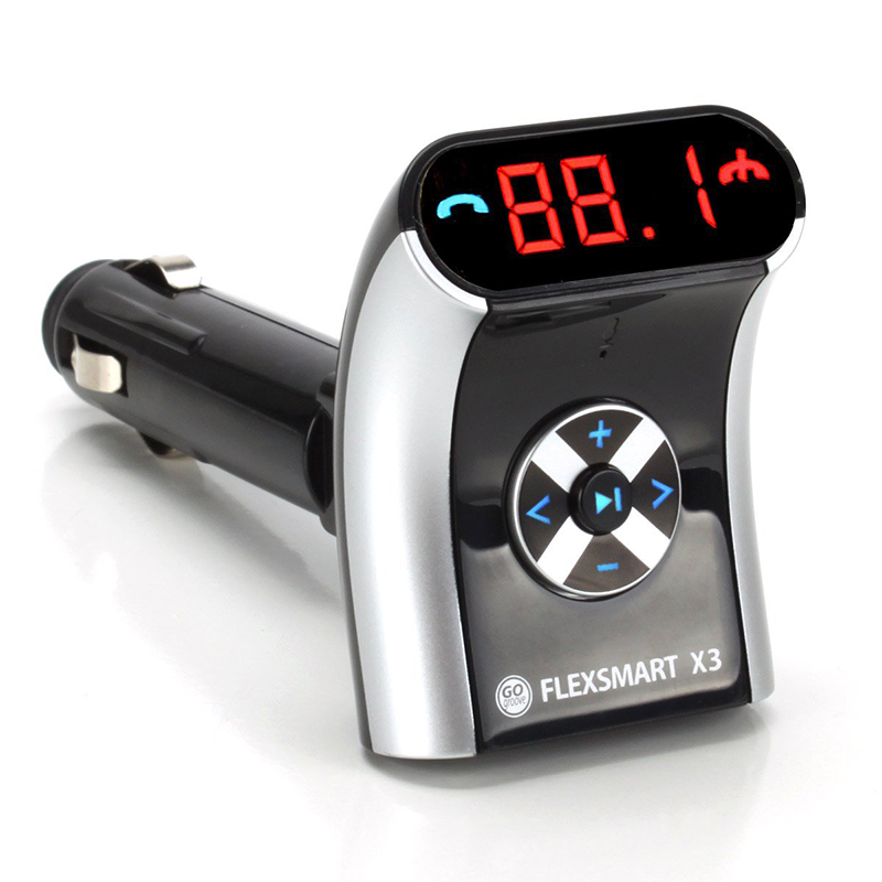 GOgroove FlexSMART X3 Mini Bluetooth FM Transmitter on Sale for $39.99