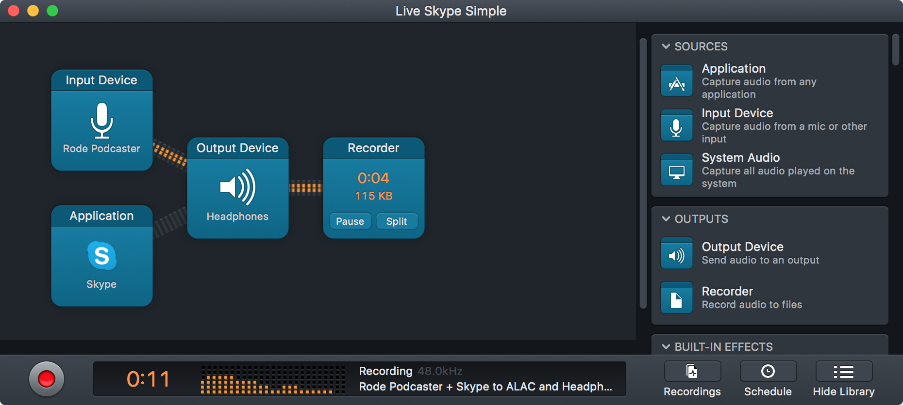 Monitor Your Podcast Recordings With Audio Hijack 3's Low