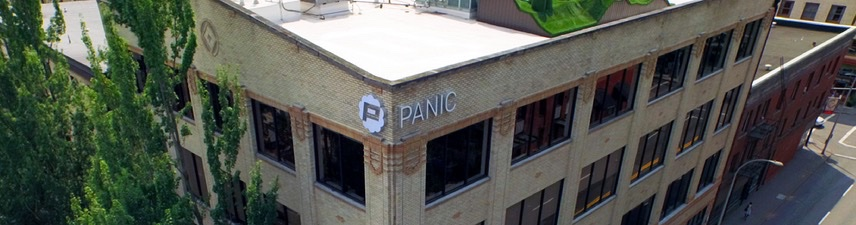 Panic Software Finally Gets its Building Sign - With Something Special