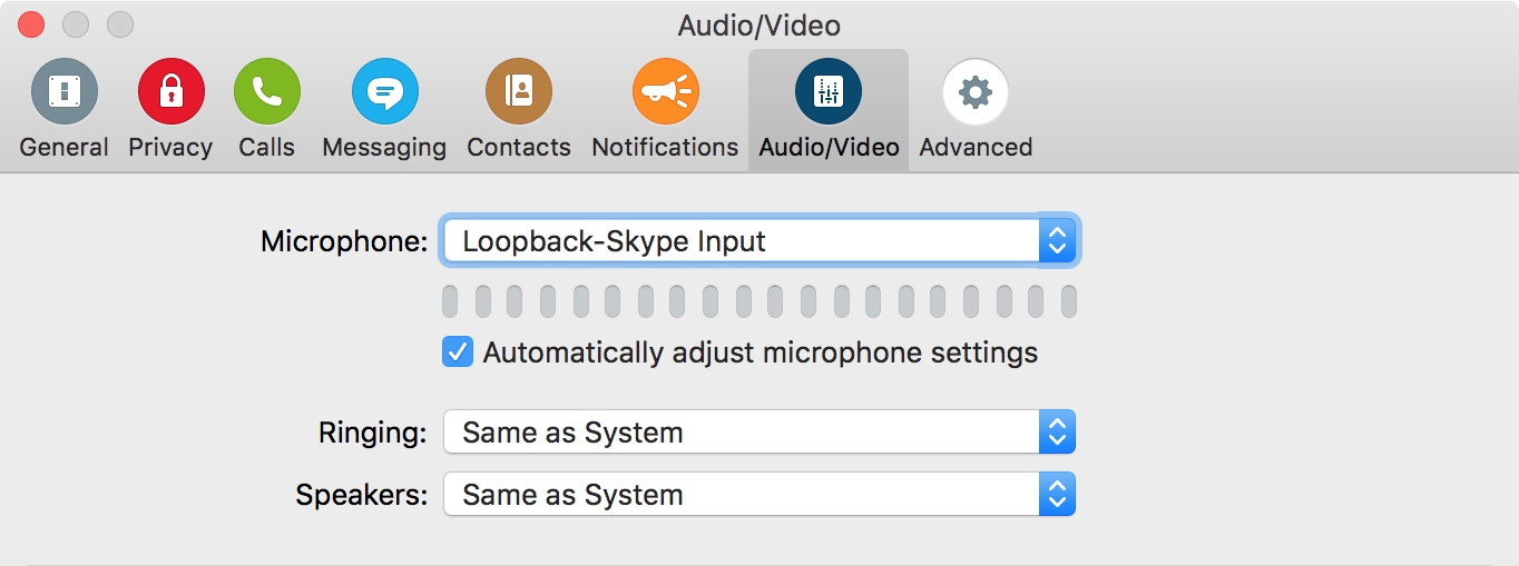 how to use internal microphone on mac