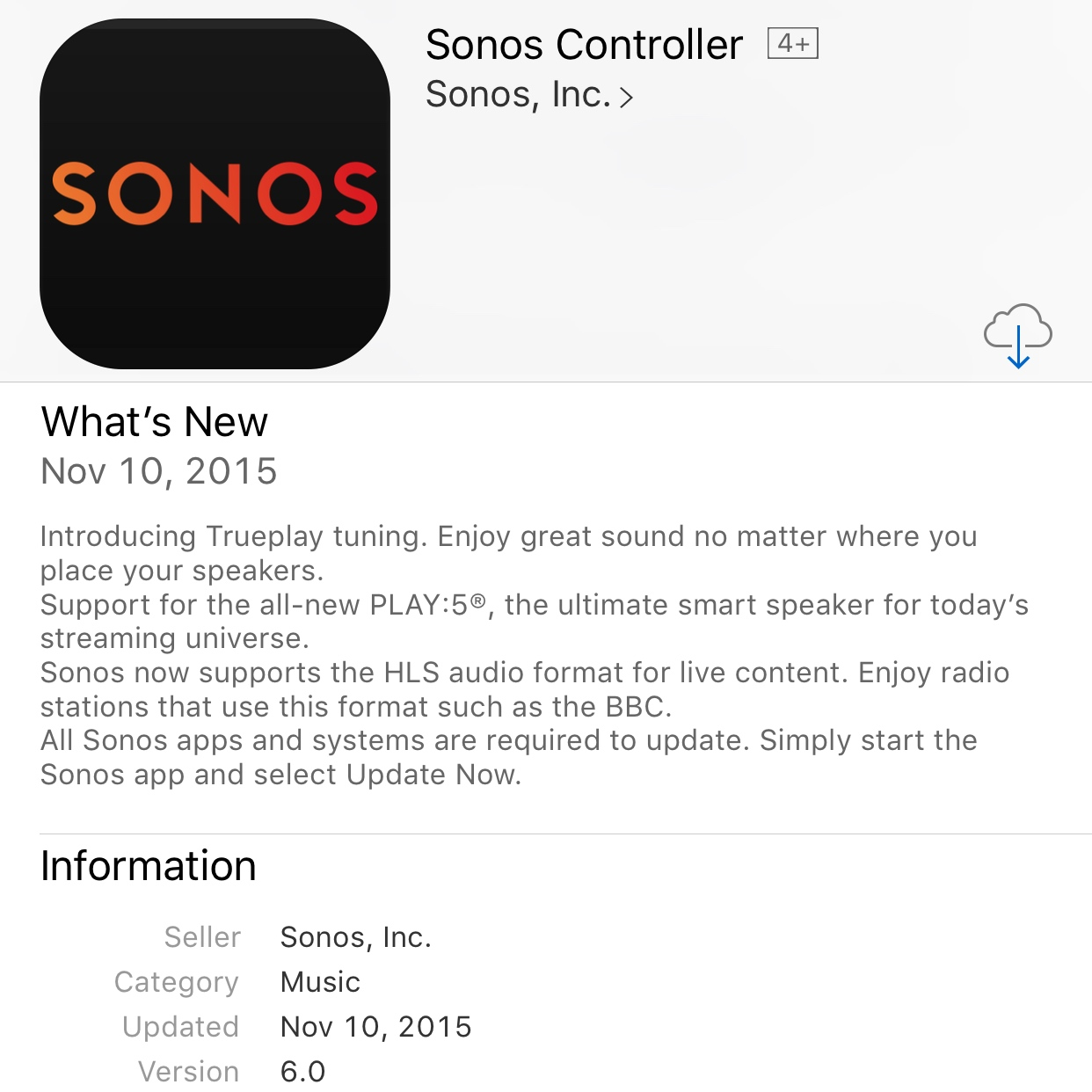 Sonos Trueplay Launches – Tune Your Wireless Speakers With Your iPhone