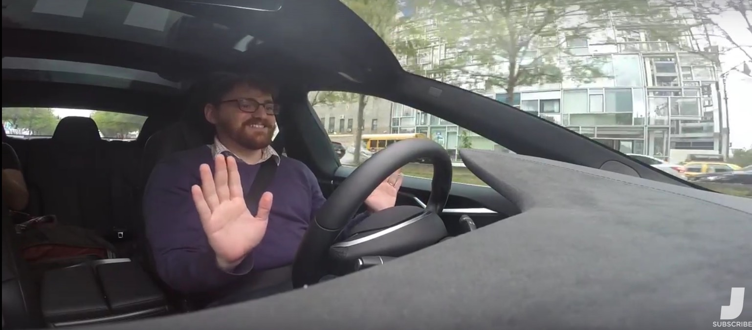 The Thrill of Driving with Tesla's Autopilot System