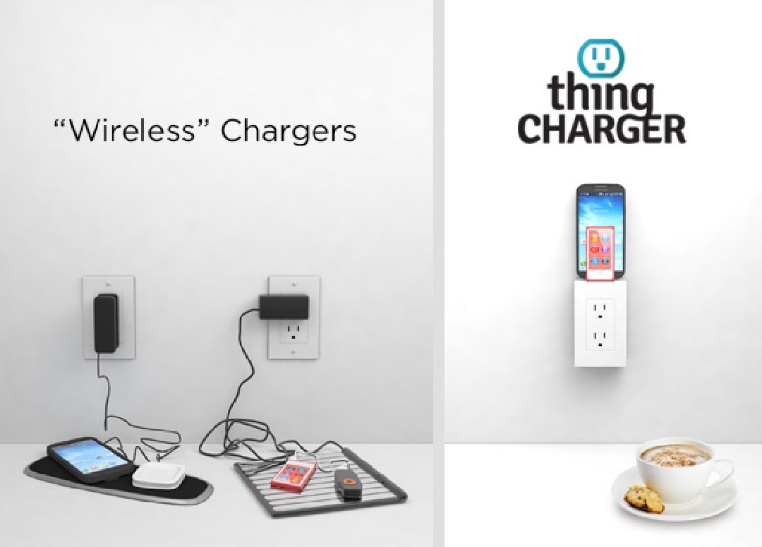 thingCHARGER Tidies Up, Augments Your Outlets