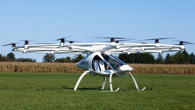 The Volocopter: A Different Approach to a Flying Car