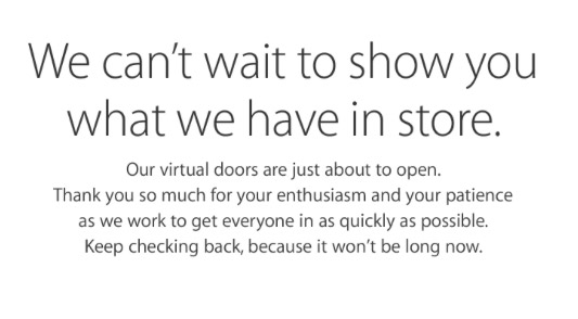 Screenshot from Apple Store ahead of iPhone 6s and iPhone 6s Plus pre-orders