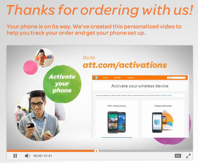 AT&T says to activate your iPhone via their site, not iTunes