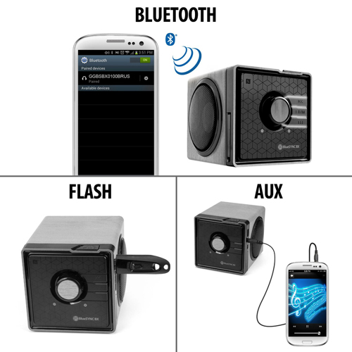 GOgroove BlueSYNC BX Portable Multimedia Bluetooth Speaker for Under $20