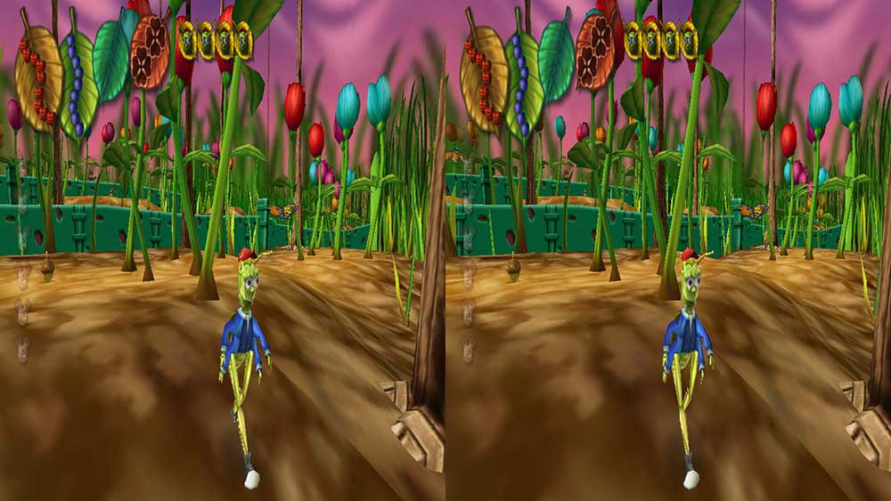 Bugdom 2 Stereo 3D Screenshot