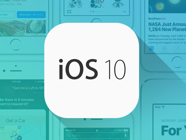 PRE-SALE: The Complete iOS 10 Developer Course at $29