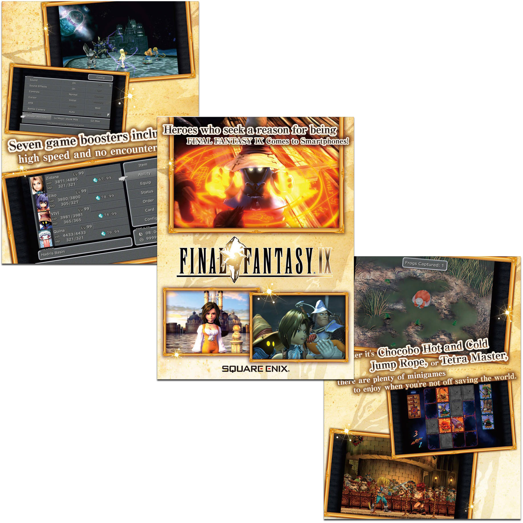 Final Fantasy IX Released for iPad and iPhone, Discounted at $16.99