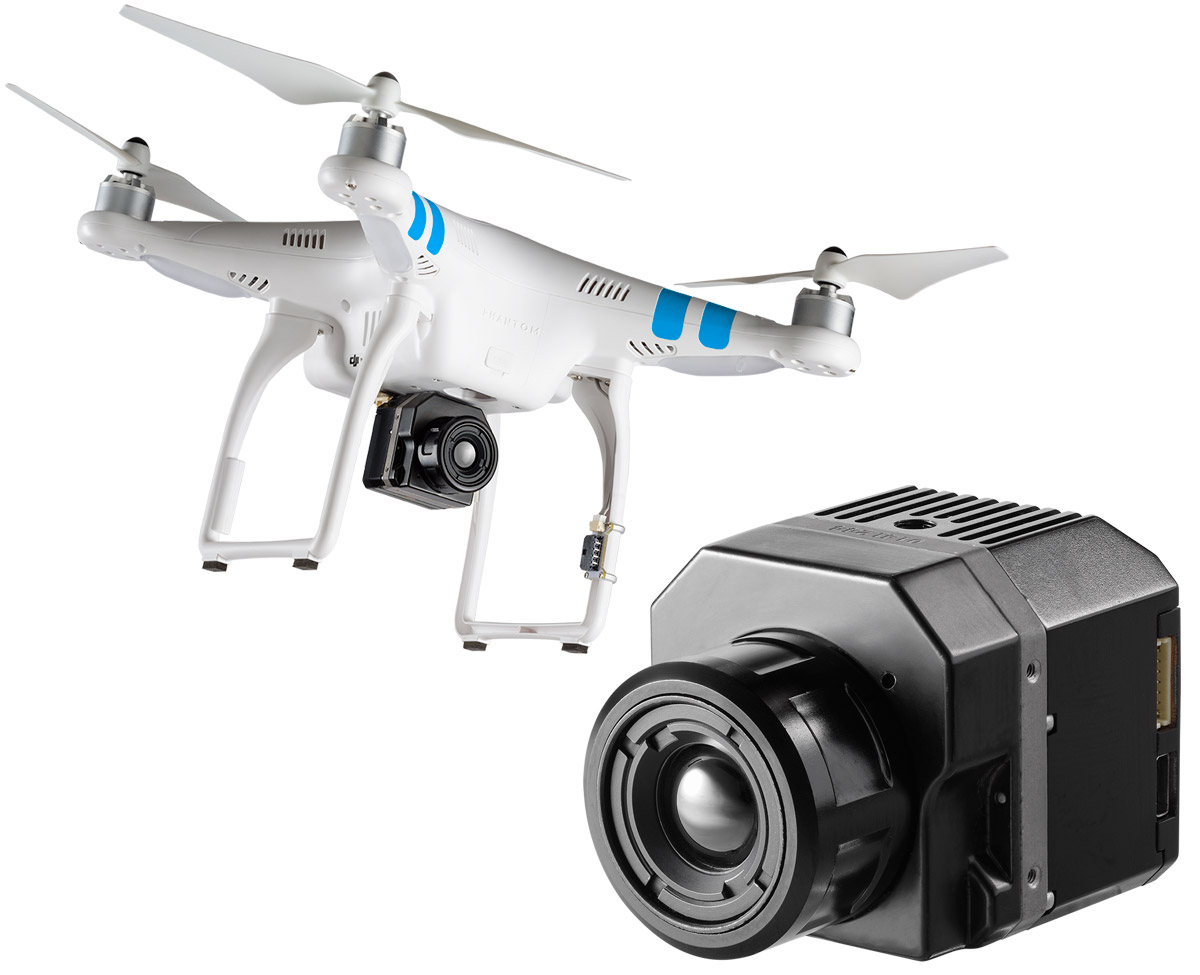 FLIR VUE Pro Brings Thermal Imaging to Drones