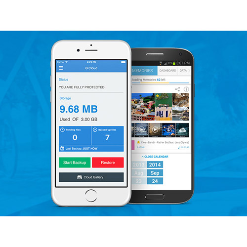 G Cloud Unlimited Backup for iPhone and Android: 5-Year Subscription for $29.99