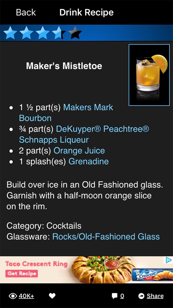 Mixology helps you come up with awesome cocktails