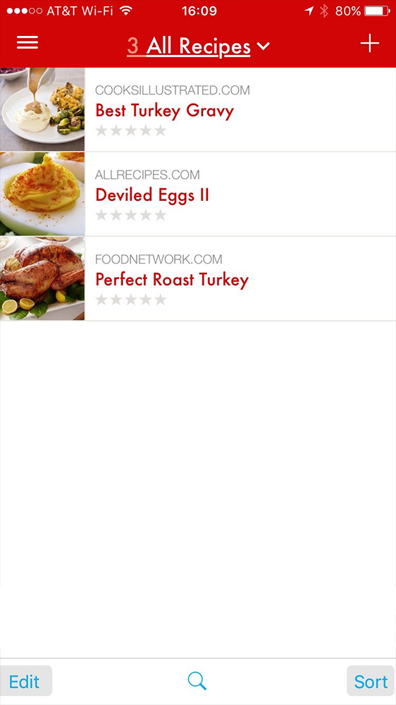 Organizing your recipe collection is easy with Paprika