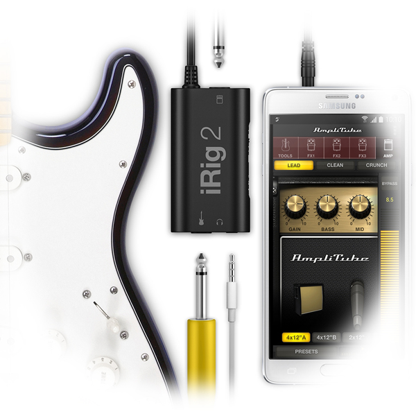 iRig 2: New and Improved Mobile Guitar Interface from IK Multimedia