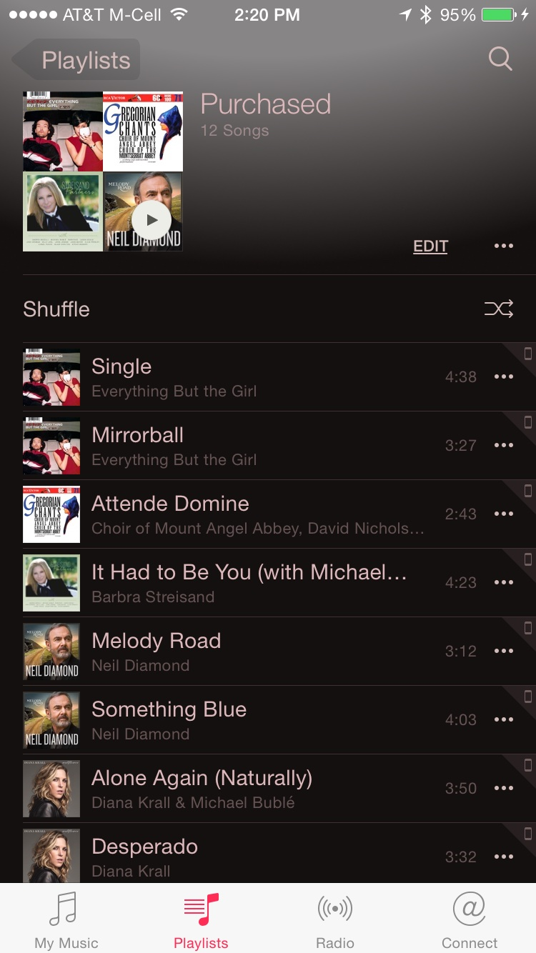 how to get album on mac to iphone