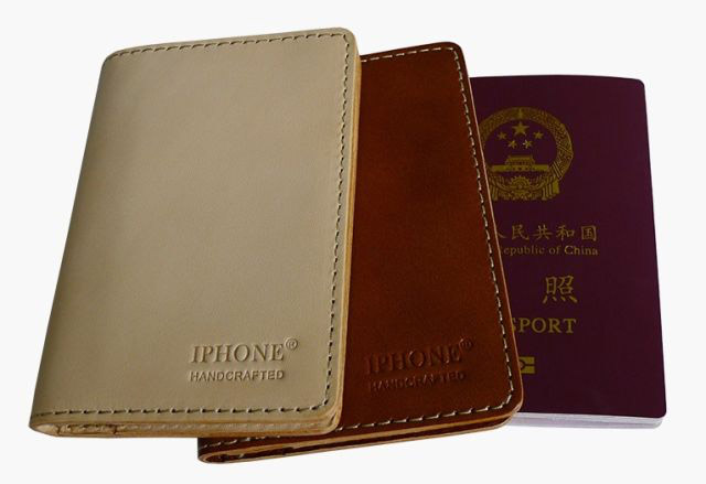 IPHONE Handcrafted Passport Wallets