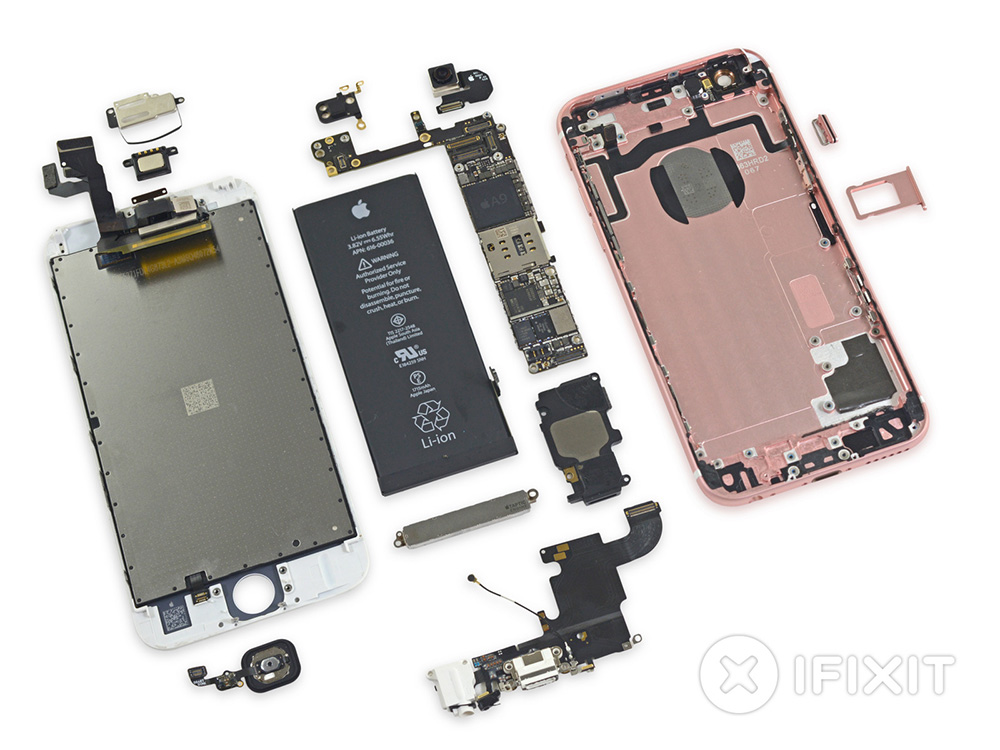 Apple's iPhone 6s: a lot like the iPhone 6 inside, but better