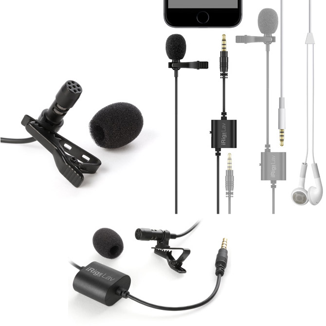iRig Mic Lav, a Lavalier Mic for Broadcast Professionals