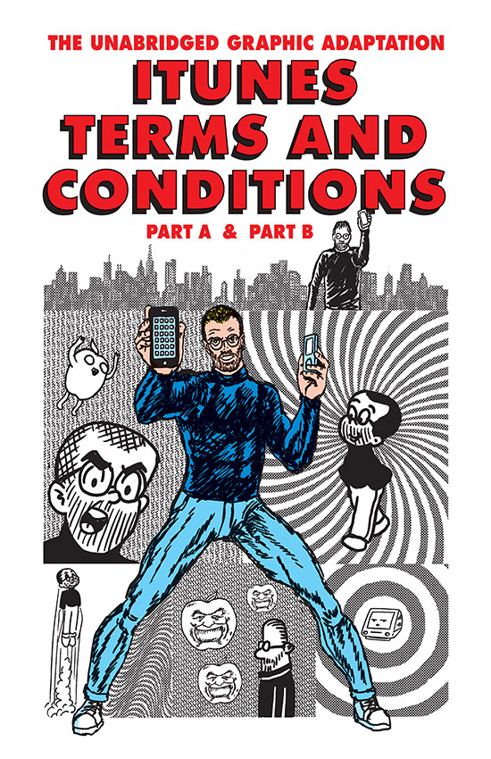 Apple's iTunes Terms and Conditions as a Graphic Novel