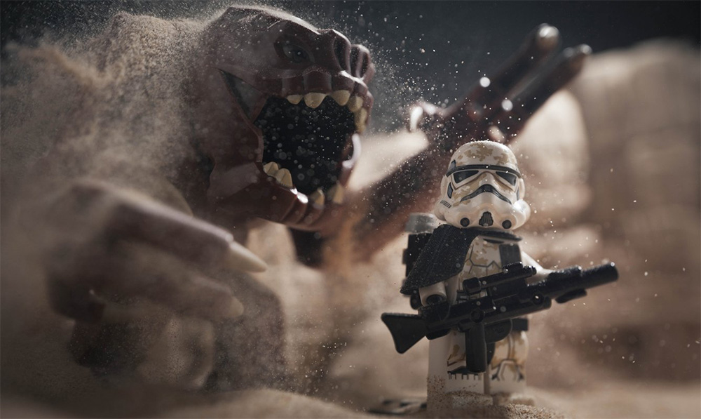 Those Awesome LEGO Star Wars Pics are Now in a Book
