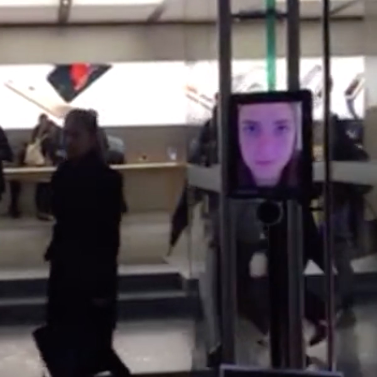 That Time a Robot Was First in Line for an iPhone 6s