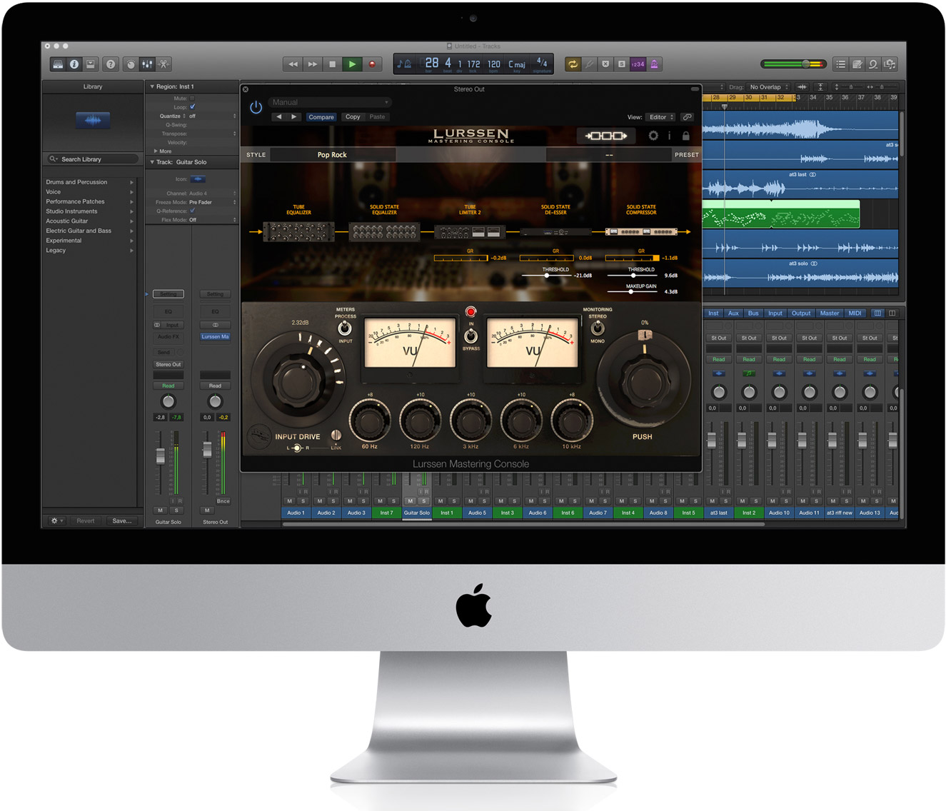 IK Multimedia Brings Lurssen Mastering Console to Mac and Windows