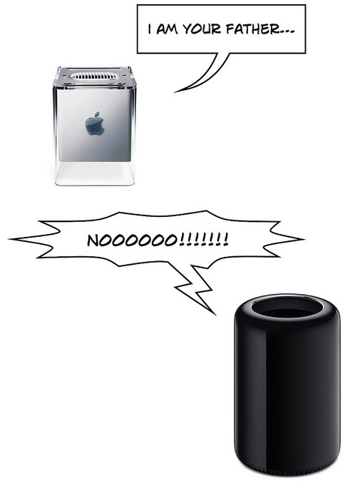 Mac Pro, I am your father...