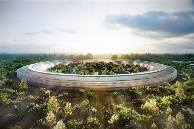 Apple's Spaceship HQ